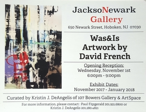 Was&Is exhibition of paintings by David French